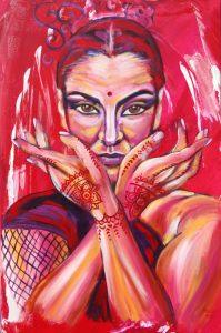 hermosa flamenca