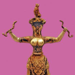 schlangenpriesterin